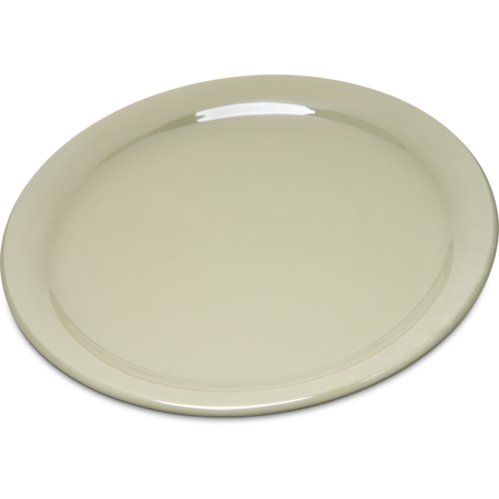 "4300416 - Durus® Melamine Narrow Rim Dinner Plate 9"" - Firenze Green"