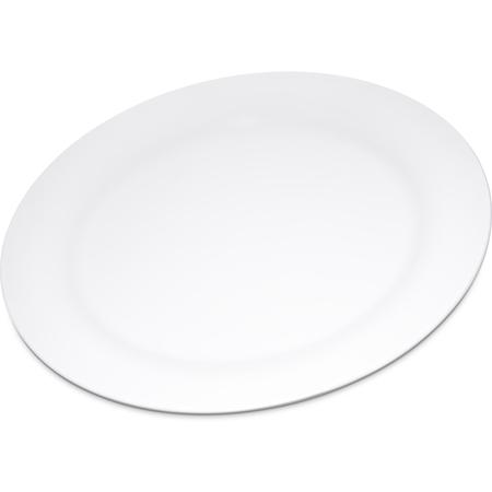 """4300202 - Durus® Melamine Dinner Plate Narrow Rim 10.5"""" - White"""