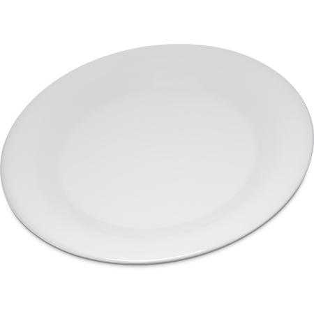 "4301242 - Durus® Melamine Wide Rim Dinner Plate 9"" - Bone"