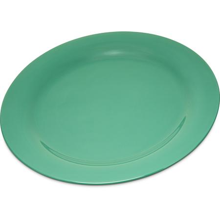 """4300209 - Durus® Melamine Dinner Plate Narrow Rim 10.5"""" - Green"""