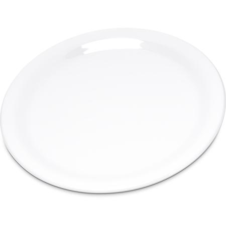 "4300602 - Durus® Melamine Salad Plate Narrow Rim 7.25"" - White"