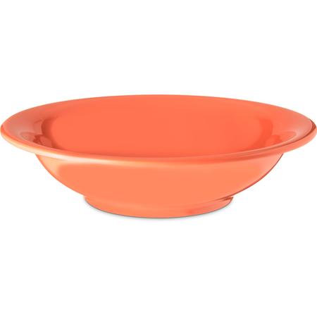 4303252 - Durus® Melamine Rimmed Bowl 16 oz - Sunset Orange