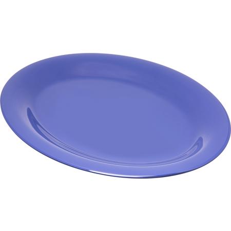 "4308214 - Durus® Melamine Oval Platter Tray 12"" x 9"" - Ocean Blue"