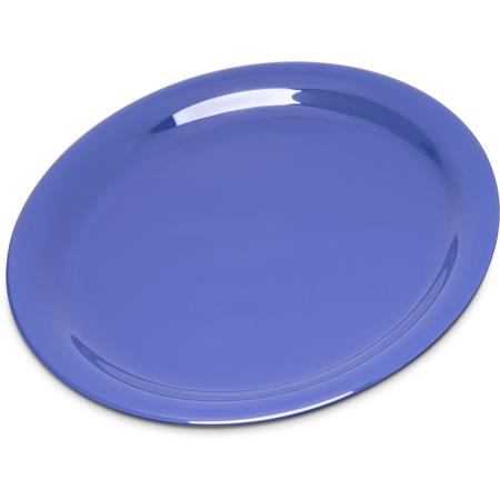 "4300814 - Durus® Melamine Narrow Rim Pie Plate 6.5"" - Ocean Blue"