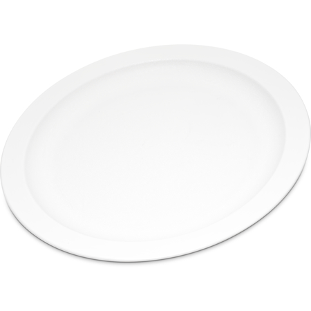 "PCD20902 - Polycarbonate Narrow Rim Plate 9"" - White"