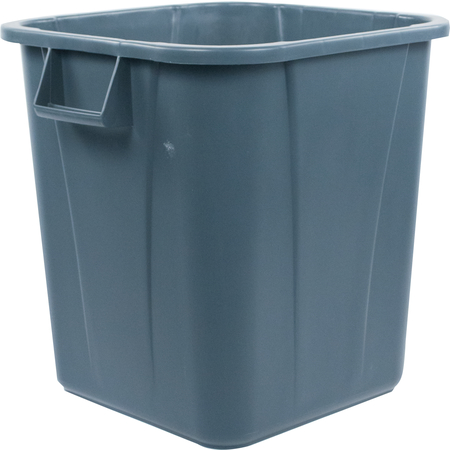 34152823 - Bronco™ Square Waste Bin Trash Container 28 Gallon - Gray