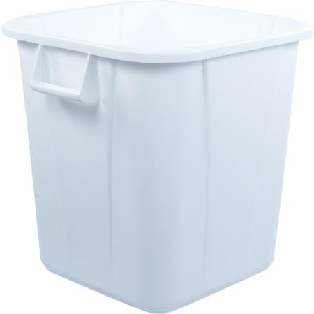 34152802 - Bronco™ Square Waste Bin Trash Container 28 Gallon - White