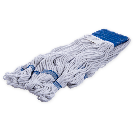 36943000 - Flo-Pac® X-Large Blue Band Mop With Looped End