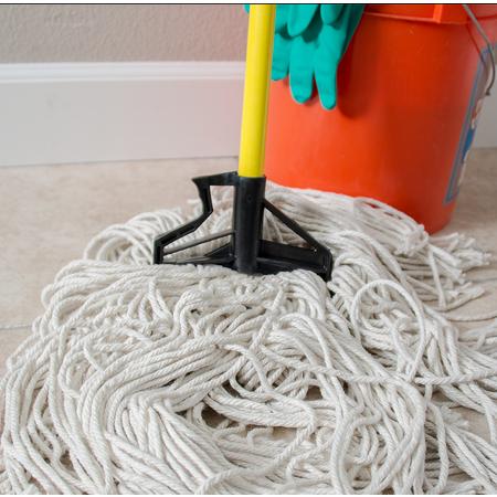 "4166404 - Sparta® Spectrum® Quik-Release™ Fiberglass Mop Handle 60"" Long / 1"" D - Yellow"