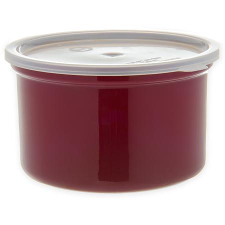 034301 - Poly-Tuf™ Crock w/Lid 1.5 qt - Brown