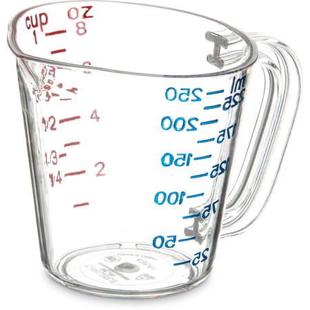 4314107 - Commercial  Measuring Cup 1 c - Clear