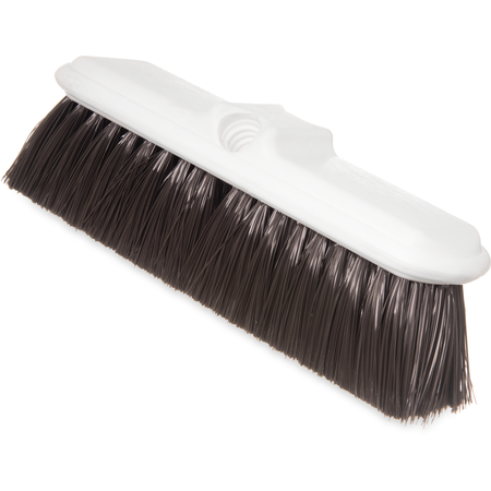"4005001 - Flo-Thru Nylex Brush With Flagged Nylex Bristles 9-1/2"" - Brown"