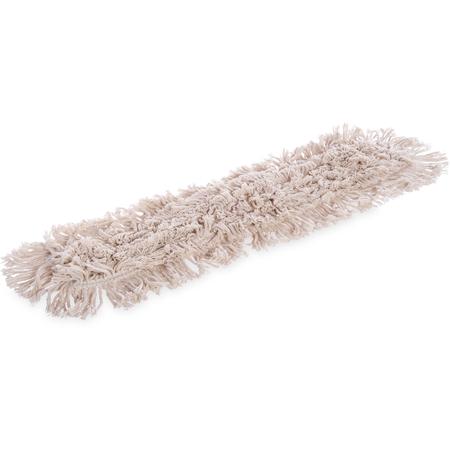 """364732400 - Flo-Pac® Tie Back Dust Mop 24"""" x 3"""" - Tan"""