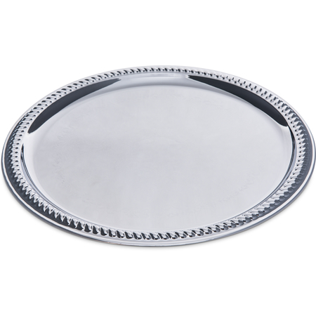 608905 - Celebration™ Round Gadroon Tray 13""
