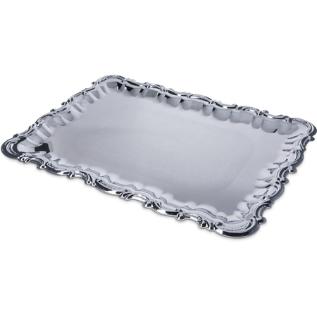 "608918 - Celebration™ Rectangular Tray w/Ornate Border 21"" x 15"""