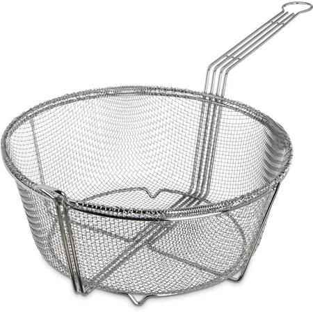 "601003 - Mesh Fryer Basket 13-1/2"" - Chrome"