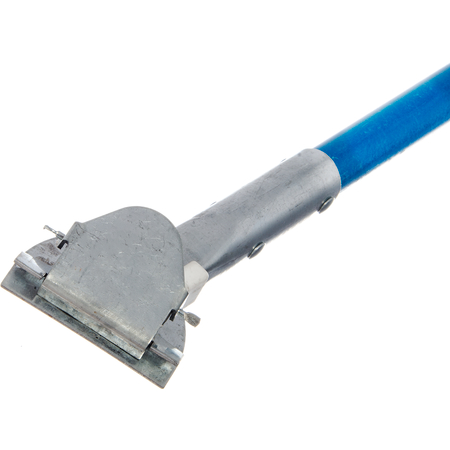 """36211314 - Fiberglass Dust Mop Handle with Clip-On Connector 60"""" - Blue"""