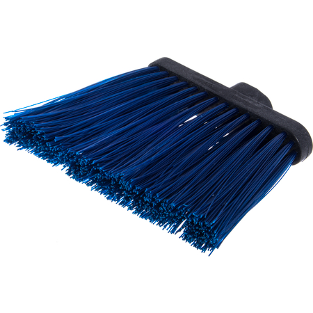 """3686814 - Duo-Sweep® Heavy Duty Angle Broom w/12"""" Flare (Head Only) 8"""" - Blue"""