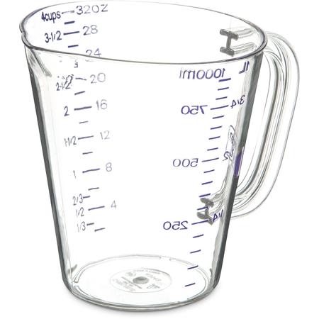 43143AF07 - Commercial  Measuring Cup 1 qt - Purple