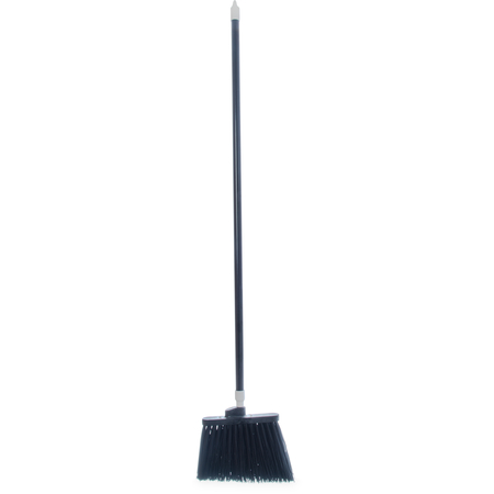 """4108303 - Sparta® Spectrum® Duo-Sweep® Angle Broom Unflagged 56"""" Long - Black"""