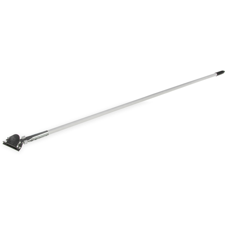 """36211302 - Fiberglass Dust Mop Handle with Clip-On Connector 60"""" - White"""