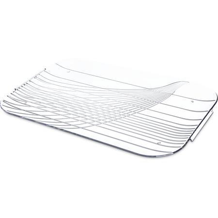 "643907 - Festival Trays™ Handled Tray 19-1/2"" x 13"" - Clear"