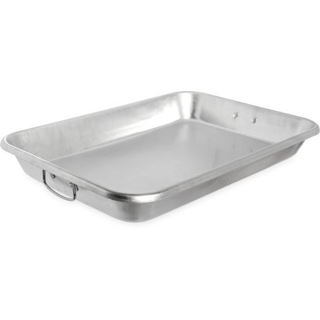 """601923 - Bake Pan With Drop Handles 19qt. 18"""" x 26""""  x 3.5"""" - Aluminum"""
