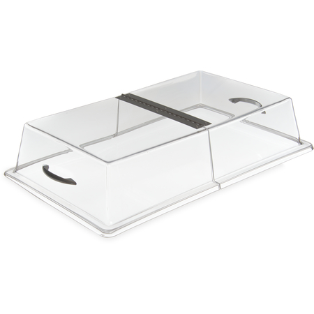 """SC2907 - Hinged Cover 21-5/16"""", 13-5/16"""", 4"""" - Clear"""