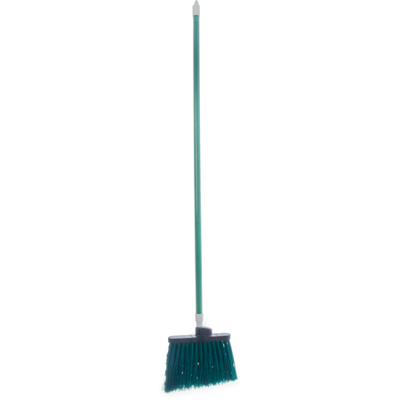 """4108309 - Sparta® Spectrum® Duo-Sweep® Angle Broom Unflagged 56"""" Long - Green"""