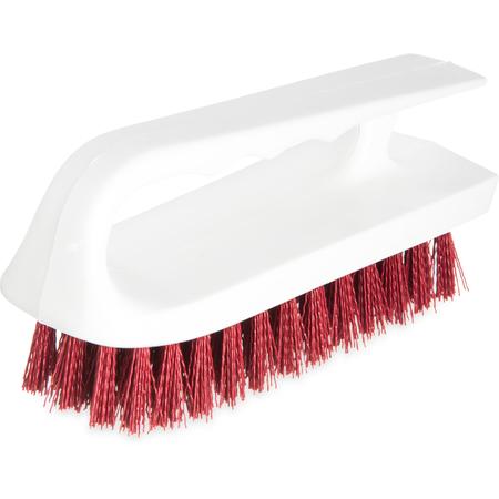 "4002405 - Sparta® Hand Scrub Brush 6"" - Red"
