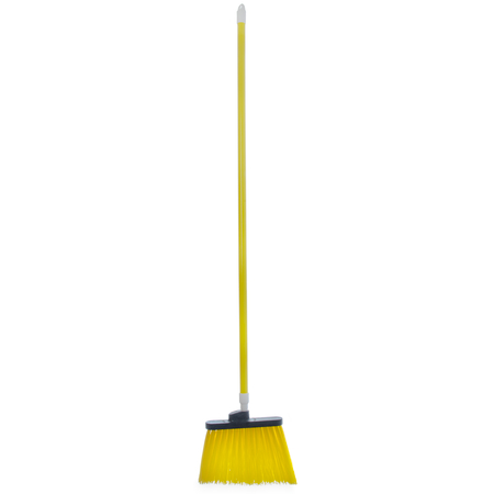 "4108304 - Sparta® Spectrum® Duo-Sweep® Angle Broom Unflagged 56"" Long - Yellow"