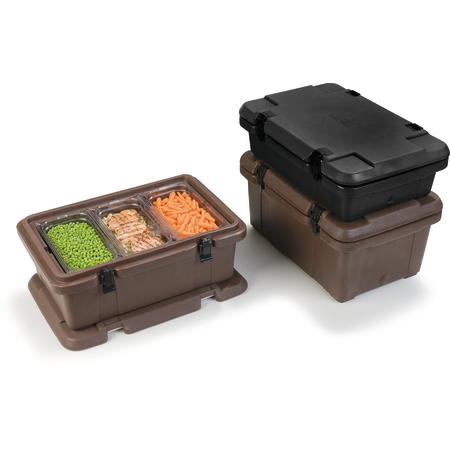 PC180N03 - Cateraide™ Combination Pan Carrier 24Qt - Black