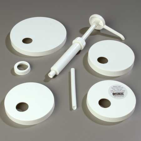 38310 - Pump Kit With Standard Pump & 5 Lids - White