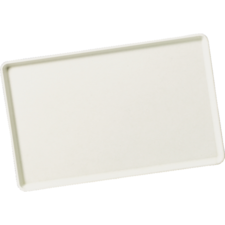 "1520LFG001 - Glasteel™ Solid Low Edge Tray 20.25"" x 15"" - Bone White"