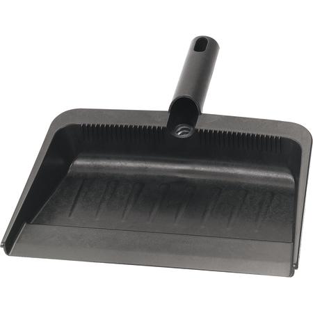 """36143703 - Flo-Pac® Flexible Plastic Dustpan 12"""" x 8"""" - Black"""
