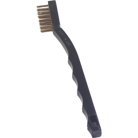"4127000 - Flo-Pac® Utility Brush with Brass Bristles 7"" Long"