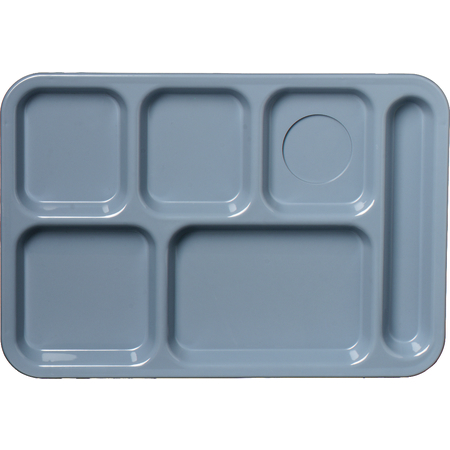 61459 - Left-Hand 6-Compartment Tray - Slate Blue