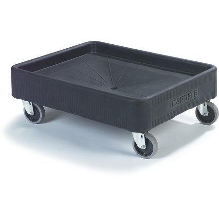"DL300R03 - Cateraide™ Dolly 20-3/8"" x 26-3/4"" - Black"