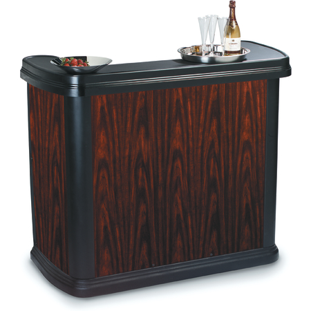 7550094 - Maximizer™ Portable Bar  - Cherry Wood