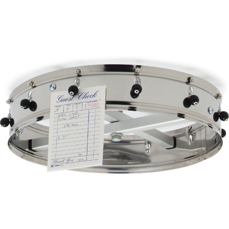 "3812CH - 12 Clip Ceiling Hung Order Wheel 14"" - Stainless Steel"