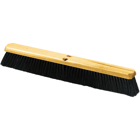 """4513600 - Flo-Pac® 24"""" Tampico Sweep with Wire Center 24"""" - Black"""
