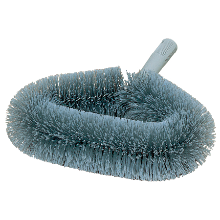 36340100 - Wide Soft-Flagged Wall Duster With PVC Bristles - Gray