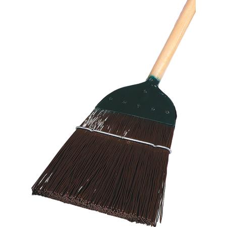 "4564901 - 1-Stitch Metal Top Broom 54"" / 1 lb. - Brown"