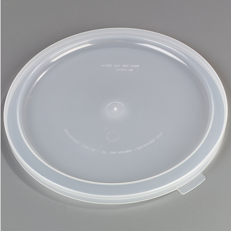 125330 - TrimLine™ Lid for 3 gal & 5 gal Round Dispensers - See Thru