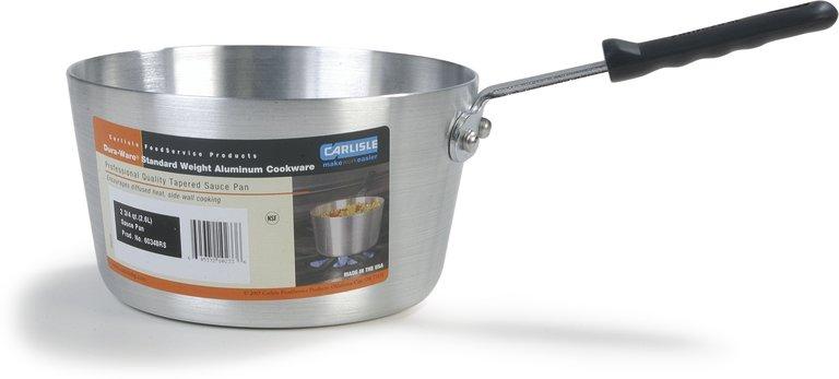 Tapered Aluminum Sauce Pan