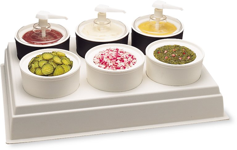 Coldmaster Condiment Bar Organizers