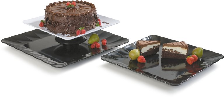 Scalloped Platters