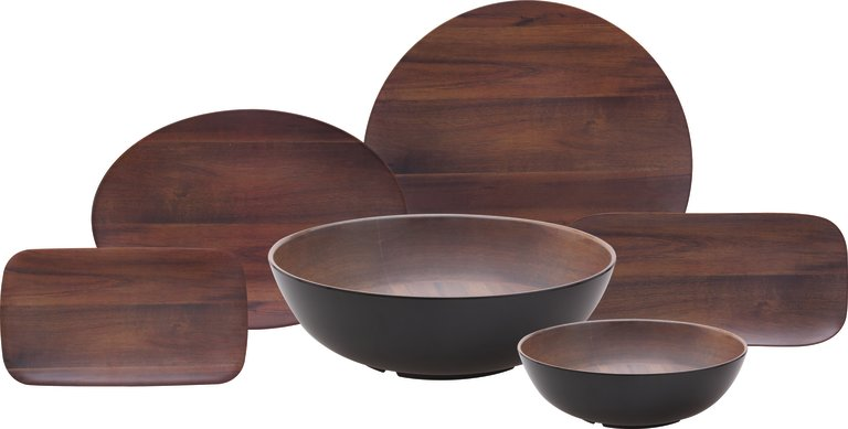 Epicure Acacia Wood Grain Collection