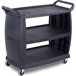 "Product Image for CC2243 - Bussing Cart 23"" x 42"" x 37.5"""
