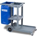 Product Image for JC1945S - Short Platform Janitorial Cart